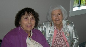 Millie Graves (left) and Grace Biggs