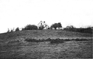 """The """"David Zumwalt House"""" near Gillespie Corners, 6 miles north of Lorane (PLEASE NOTE: The house and barn are now called """"The Blue Rooster Inn Bed and Breakfast"""" and is now owned by Nancy Pelton)"""