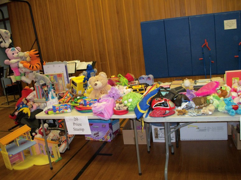 Prize table 2