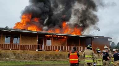 Lorane County Cafe burn